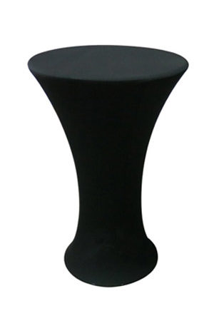 Bombo Table With Black Spandex