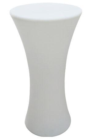Illuminated Hourglass Bistro Table