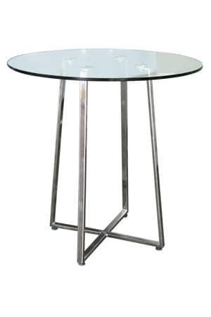 Soho Round Glass Table