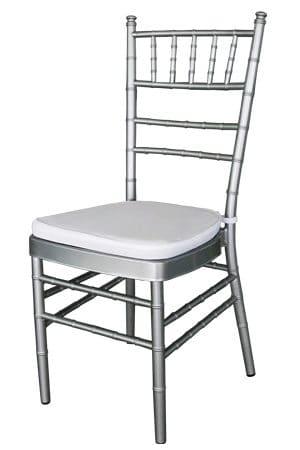 Tiffany Chair – Silver