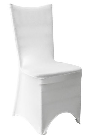 Tiffany Chair White Spandex