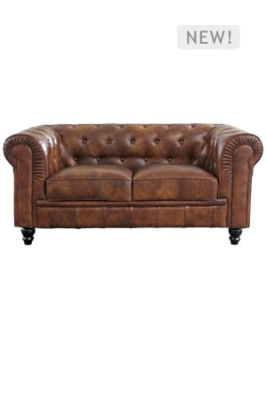 Vintage Chesterfield Sofa Double Seater